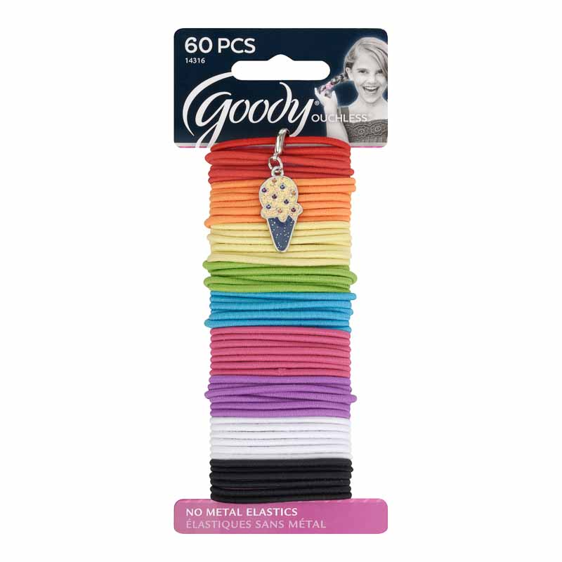 Goody Ouchless Girls Elastics - 60's