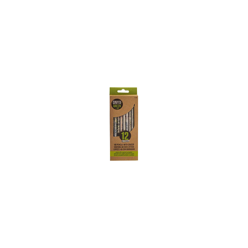 Onyx Green Colour Pencils - 12 pack