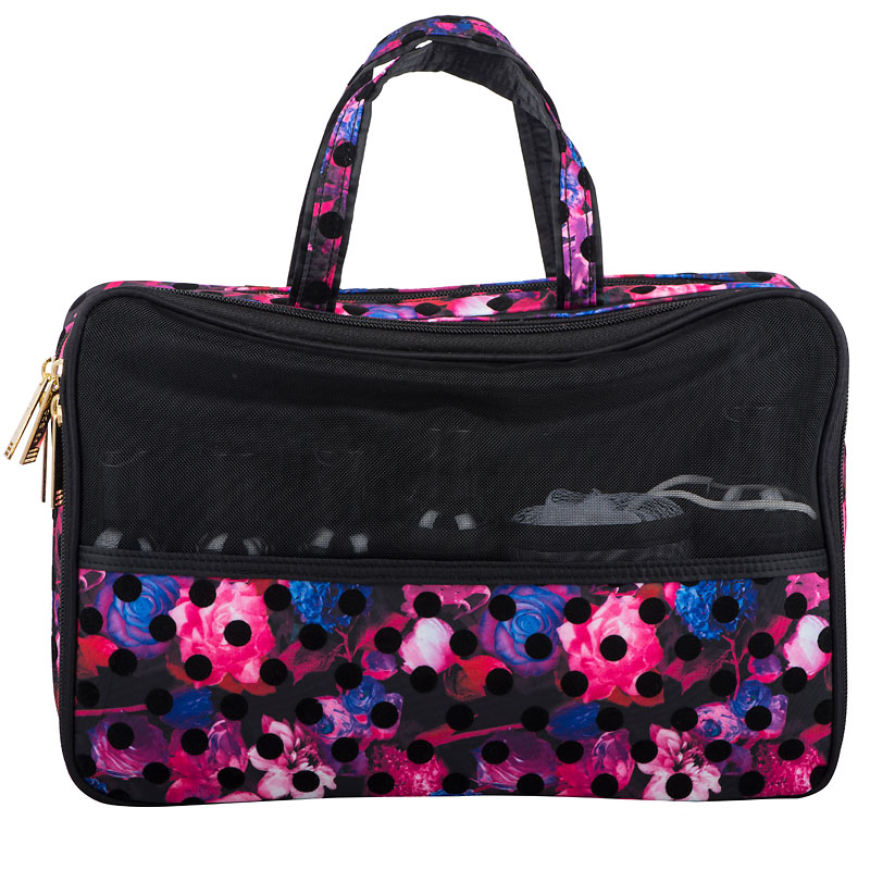 Modella Midnight Bloom Fitted Weekender - A006721LDC