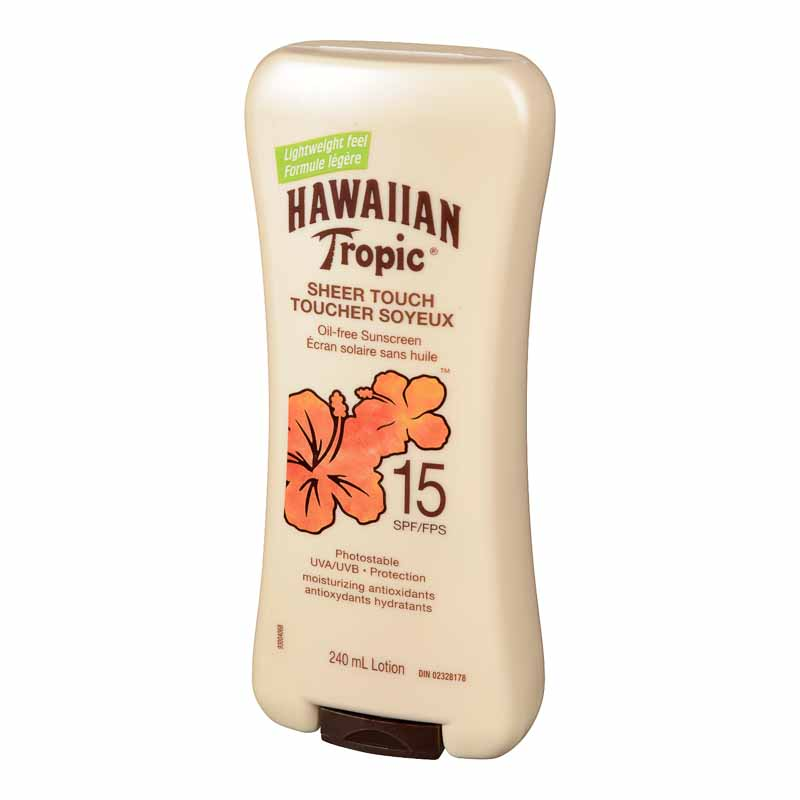 Hawaiian Tropic Sheer Touch Sunscreen - SPF 15 - 240ml