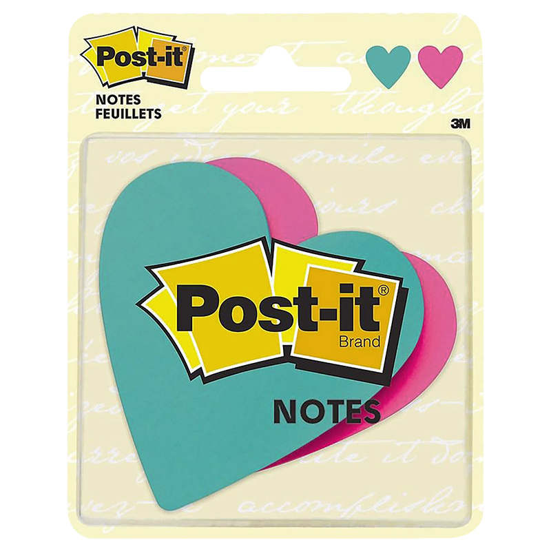 3M Post-it Notes - Hearts