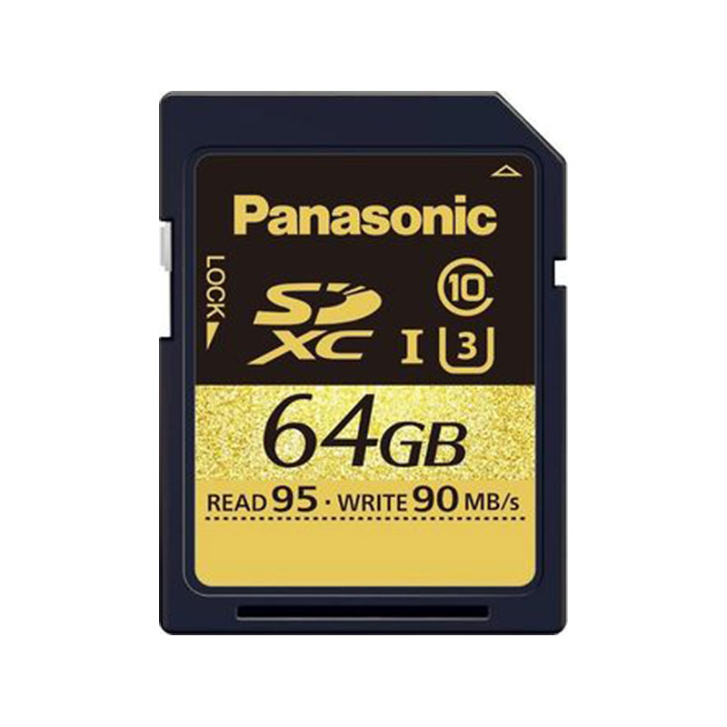 Panasonic 64GB SDXC Card - RPSDUD64GAK