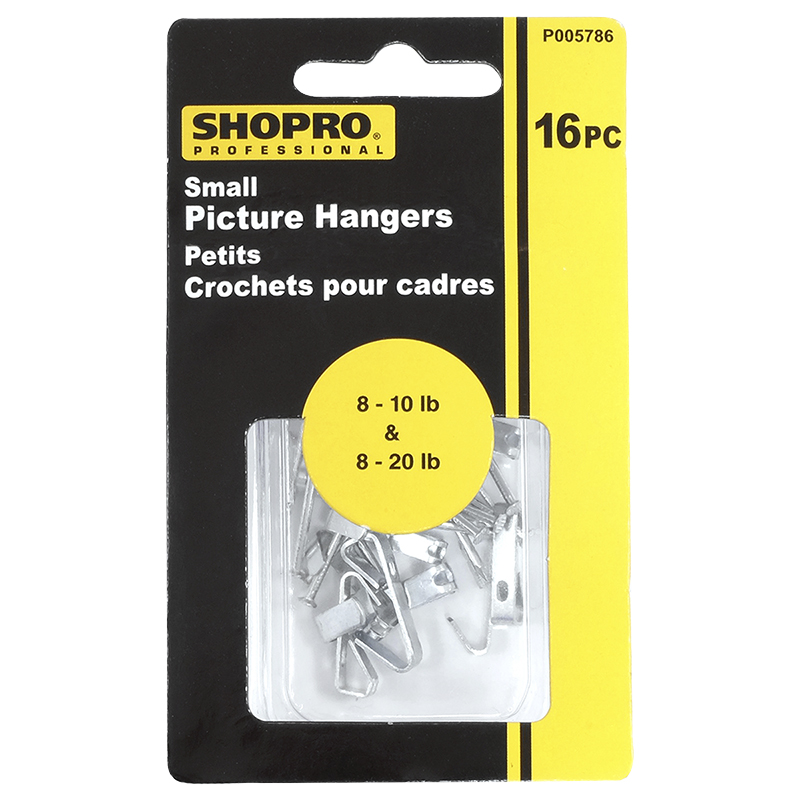 Shopro Picture Hangers - Small - 16's