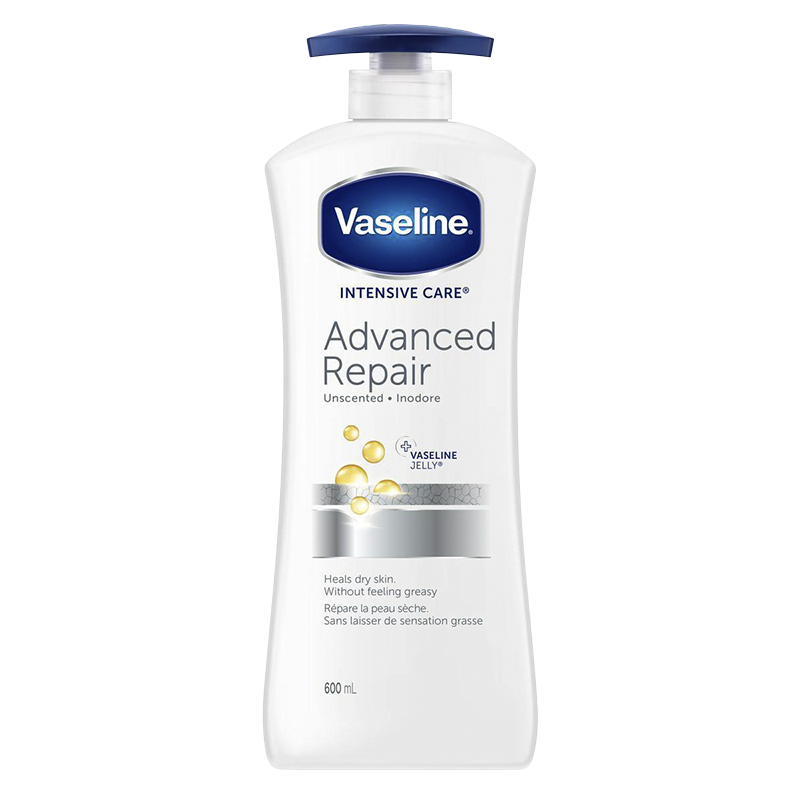 Vaseline Intensive Care Advanced Repair Unscented Lotion - 600ml