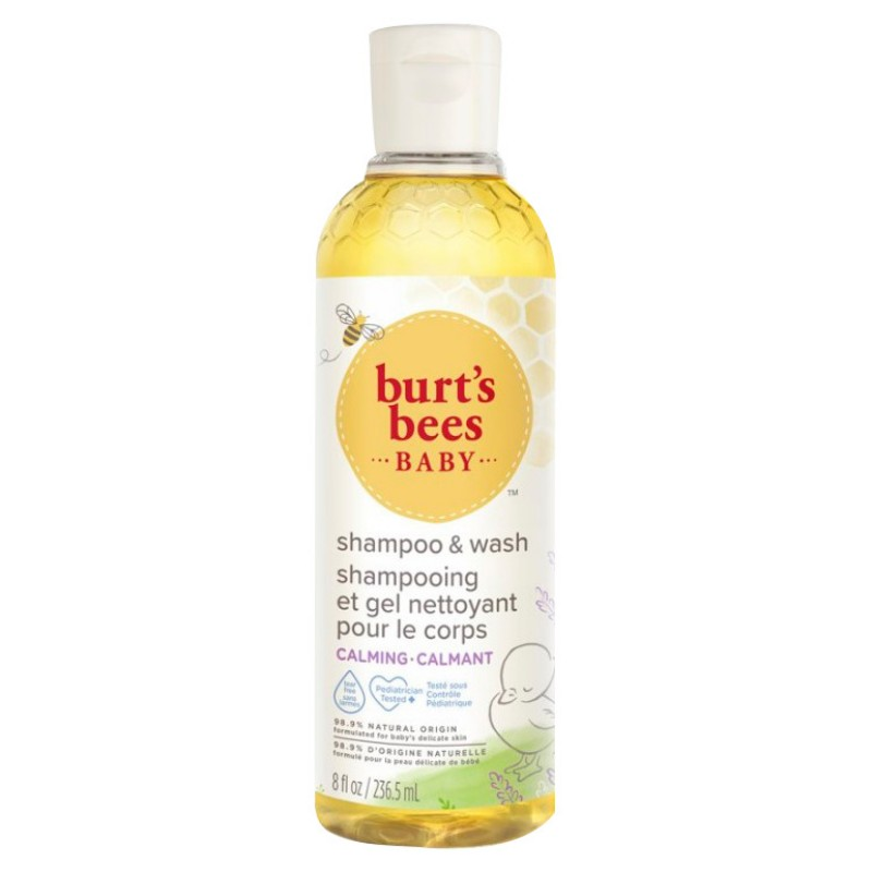 Burt's Bees Baby Bee Calming Shampoo & Wash - 235ml