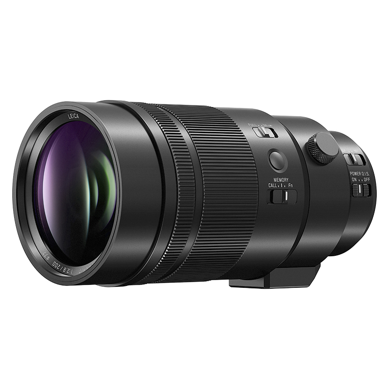 Panasonic LUMIX 200mm F2.8 ASPH Lens - Black - HES200