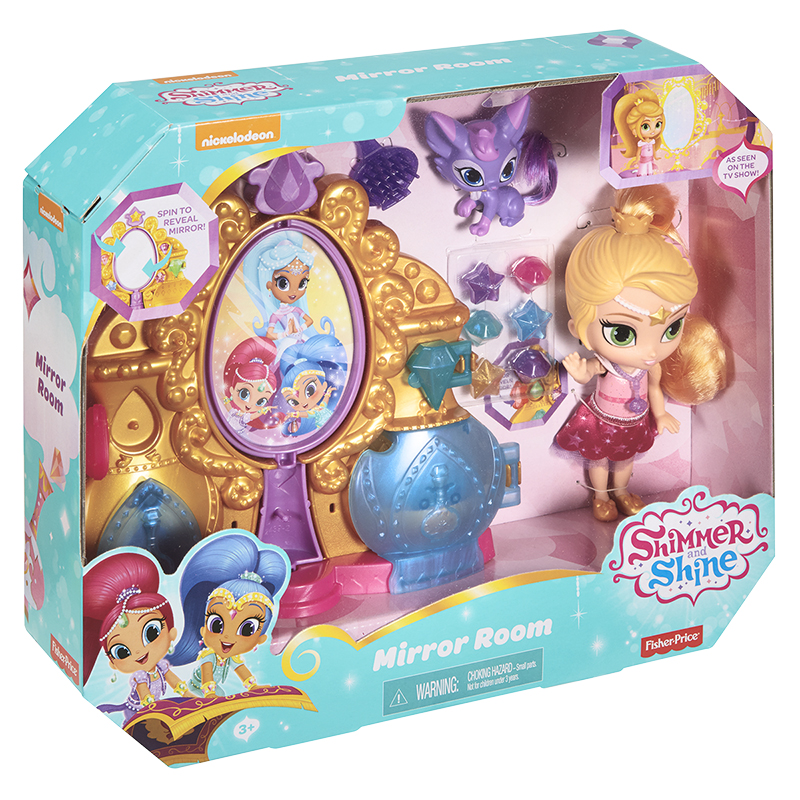 Fisher Price Shimmer and Shine Playset - Assorted