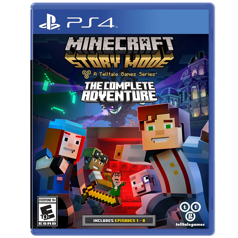 PS4 Minecraft: Story Mode - The Complete Adventure