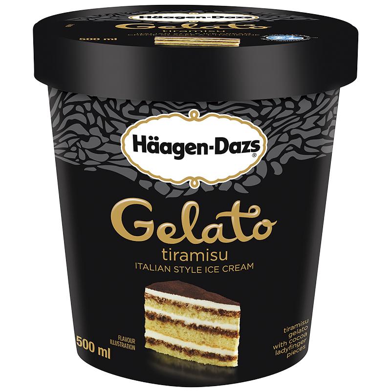 Haagen-Daz Haagen-Dazs Ice Cream - Gelato Tiramisu - 500ml