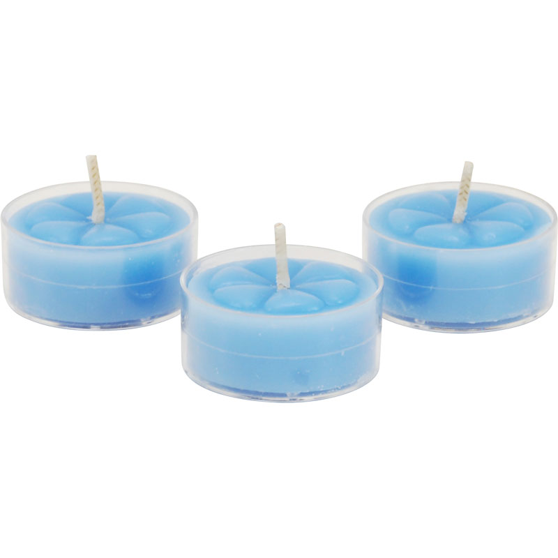 Fragrant Reflection Tealight Candles - Ocean Breeze - 6 pack