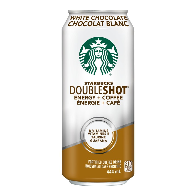 Starbucks Double Shot Energy Coffee - White Chocolate - 444ml