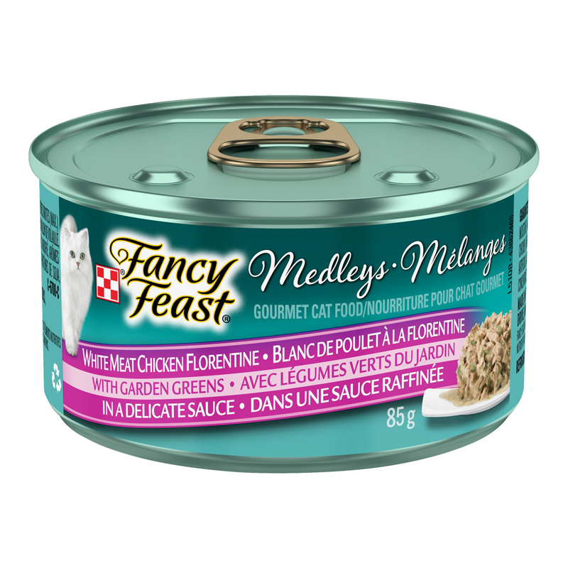 Fancy Feast Medley - White Meat Chicken Florentine - 85g