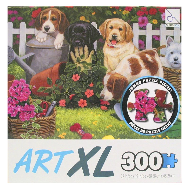 Sure-Lox Art XL Collect Puzzle - 300 piece - Assorted