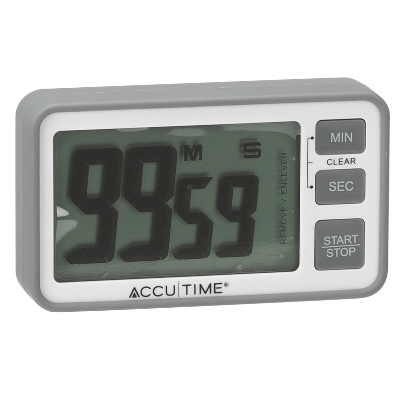 AccuTemp Digital Timer with Big Display - Assorted