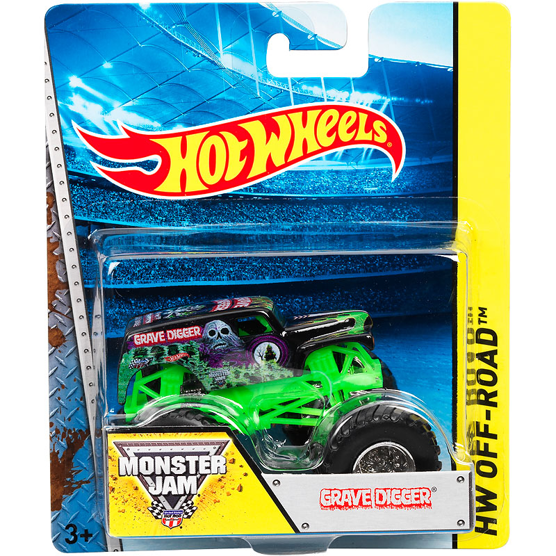Hot Wheels Monster Jam Trucks - Assorted