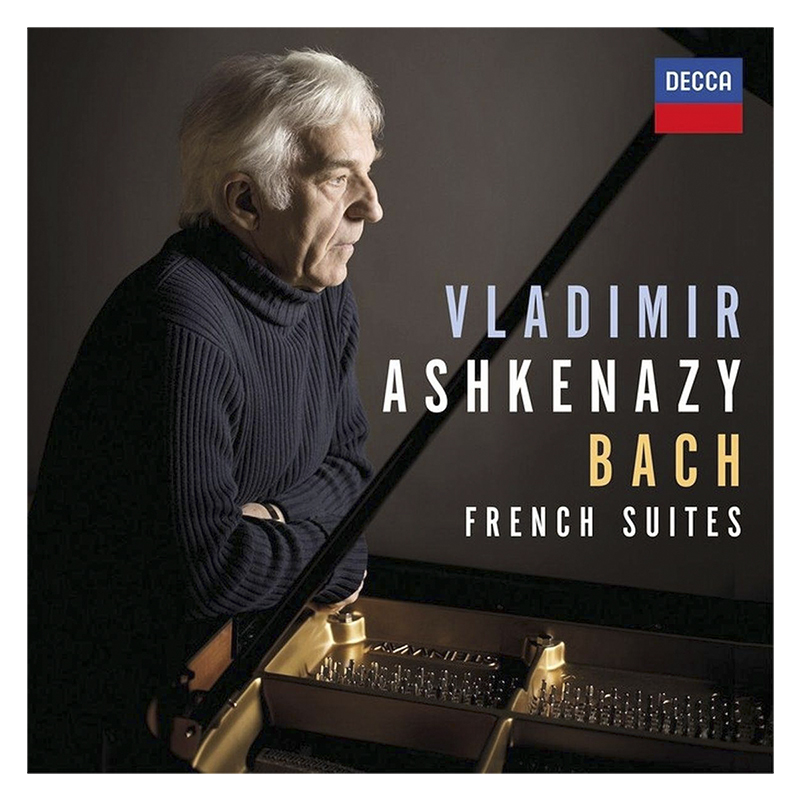 Vladimir Ashkenazy - Bach: French Suites - CD