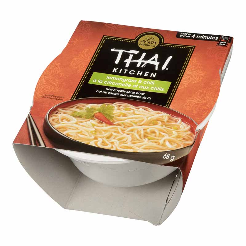 Thai Kitchen Rice Noodle Bowl - Lemongrass & Chili - 68g