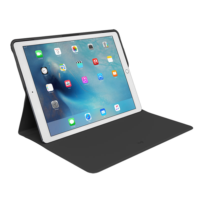 Logitech Create Protective Case with AnyAngle Stand for iPad Pro 12.9 - Black