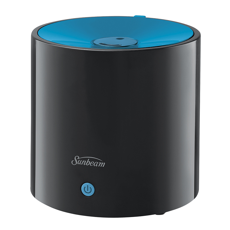 Sunbeam Ultrasonic Personal Humidifier - Black and Blue - SUL411B-CN