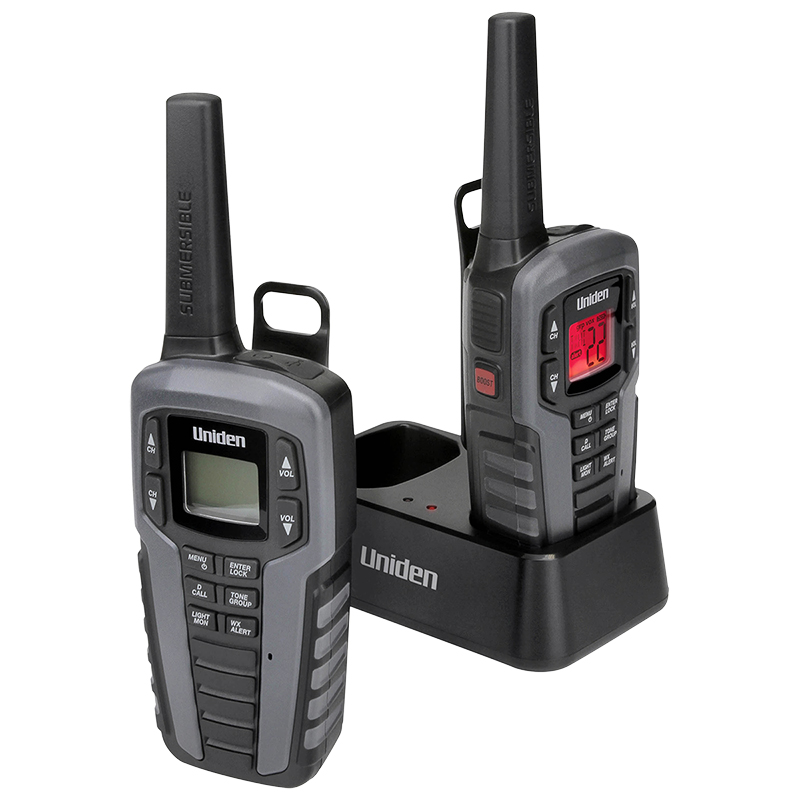 Uniden GMRS Radio Kit - Black - SX3772CKHS