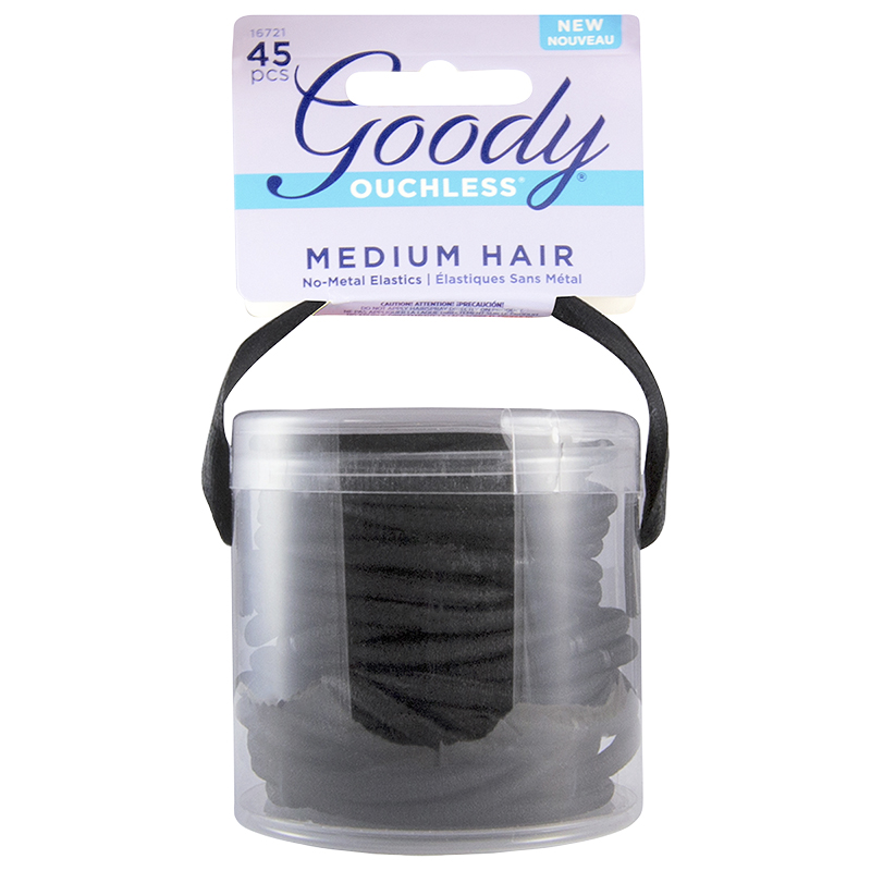Goody Ouchless No Metal Elastics - 16721 - 45's