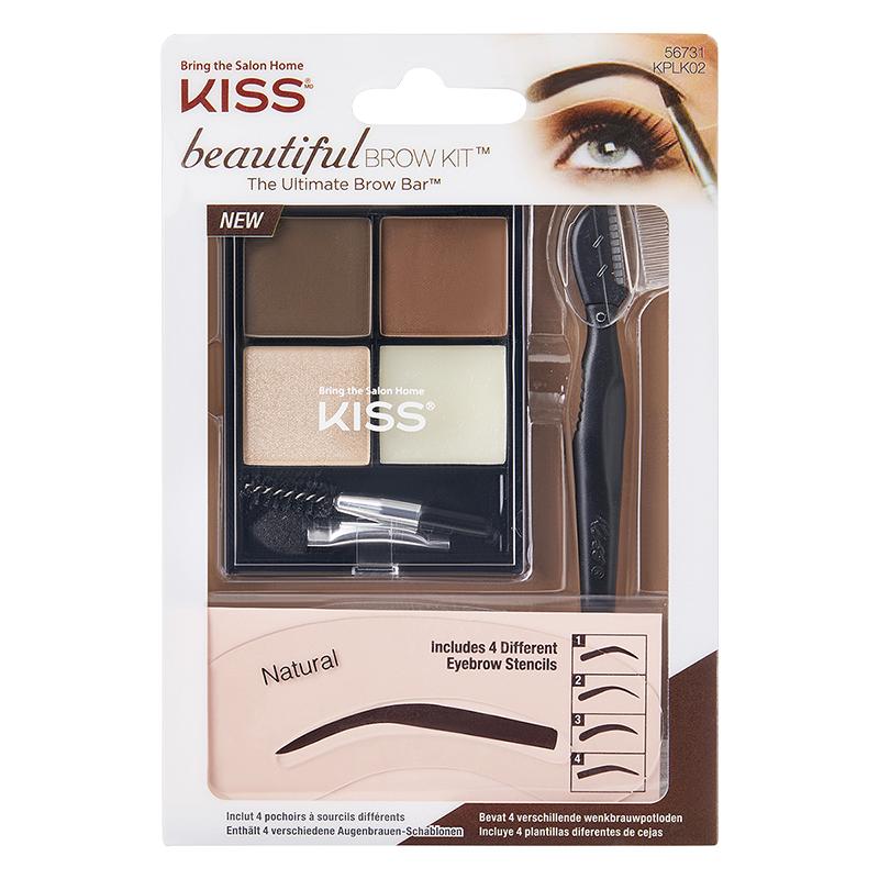 a69bef8ed4e Kiss Beautiful Brow Kit - Medium Brown   London Drugs