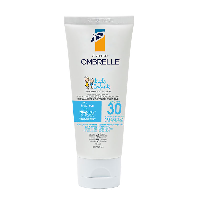 Ombrelle Kids Wet'N Protect Sunscreen Lotion - SPF 30 - 90ml