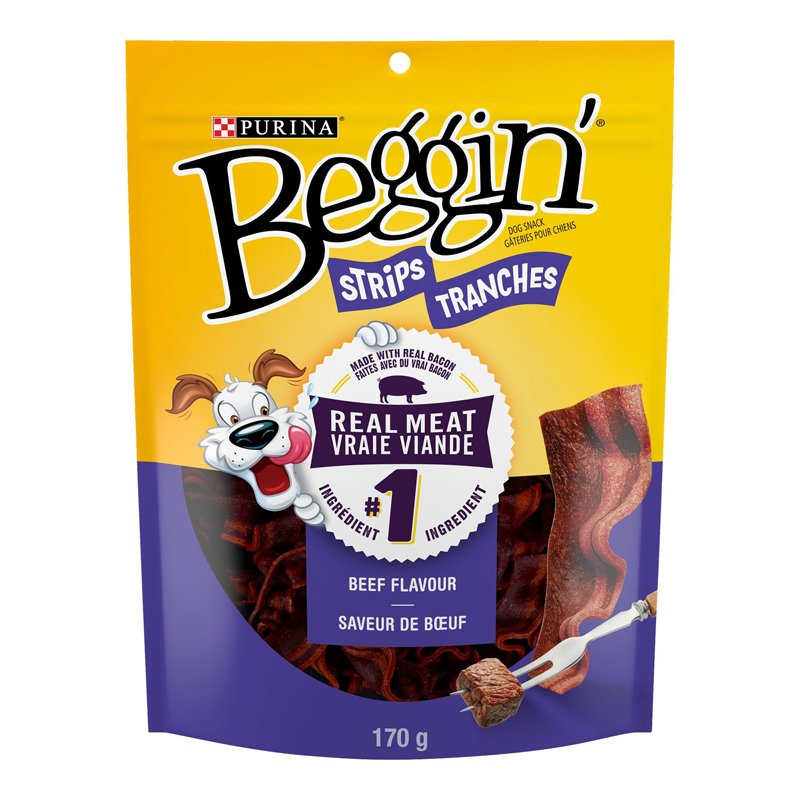 Purina Beggin Strips - Beef and Bacon - 170g