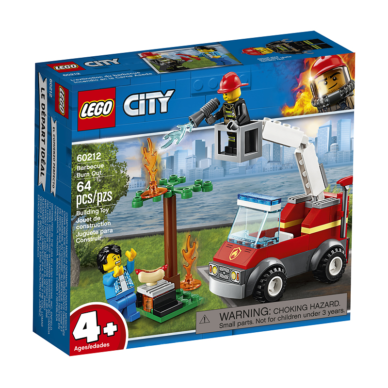 LEGO® City - Barbecue Burn Out