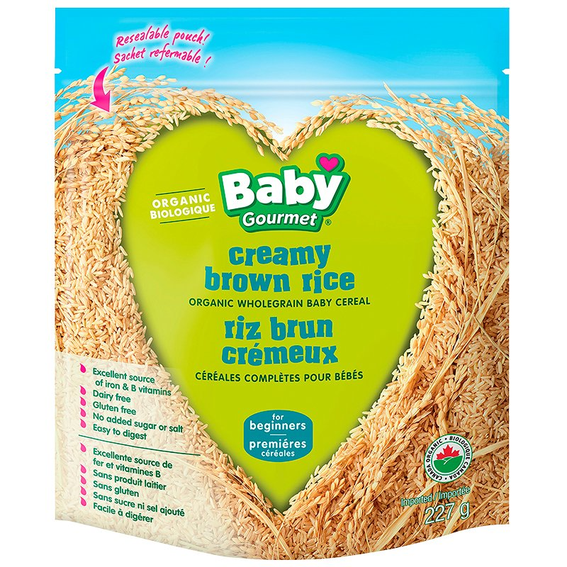 Baby Gourmet Cereal - Creamy Brown Rice - 227g