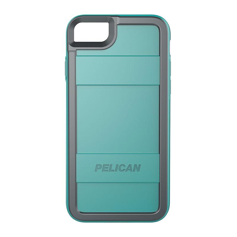 the best attitude 3eb2c 4db2c Pelican Pro Case for iPhone 7 - Aqua/Grey - PNIP7PROAQGR