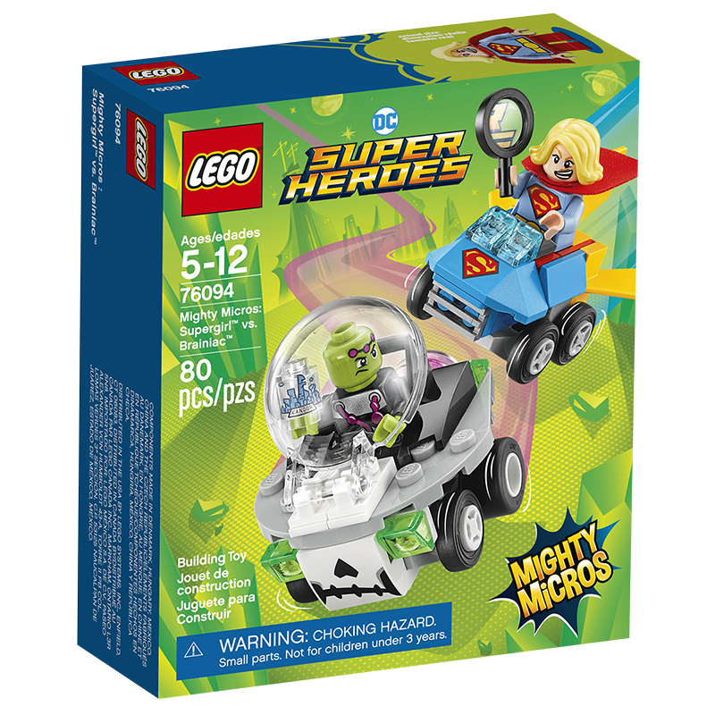 LEGO DC Comics Super Heroes - Mighty Micros Supergirl™ vs. Brainiac™