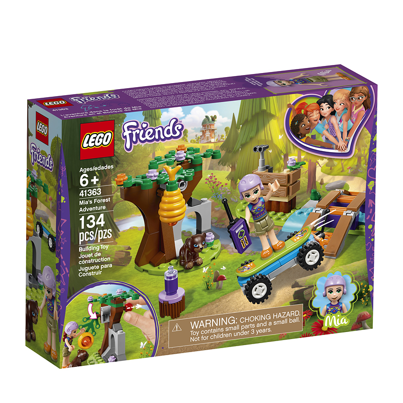 LEGO® Friends - Mia's Forest Adventure -  41363