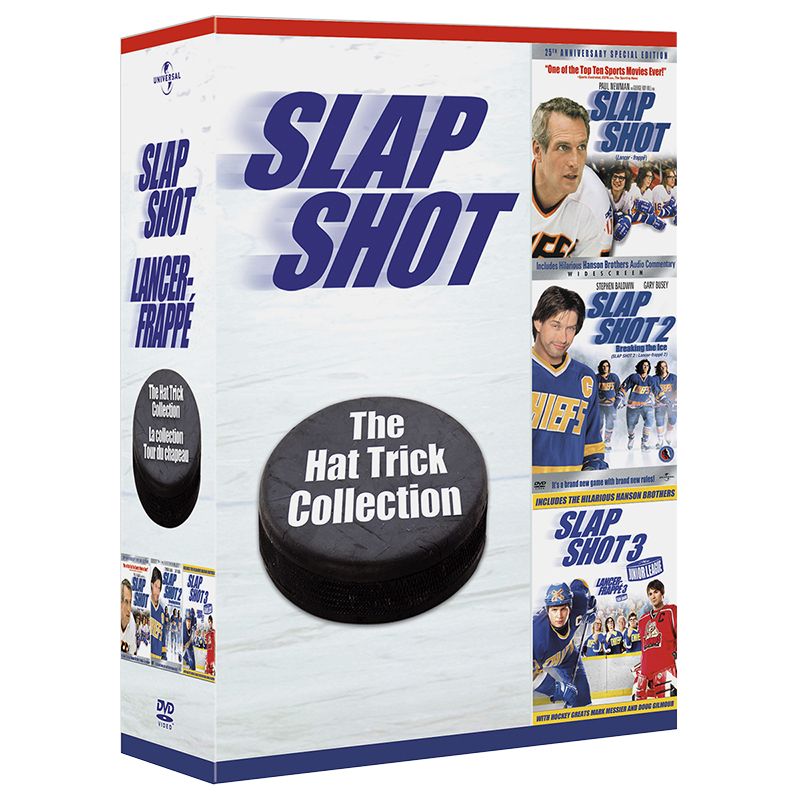 Slap Shot: The Hat Trick Collection - DVD