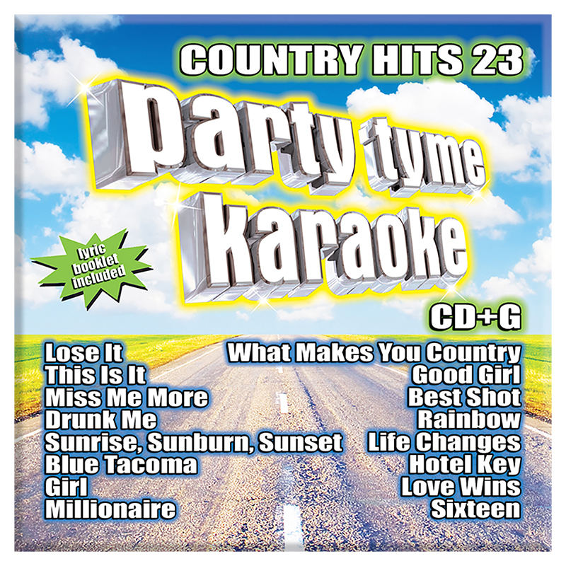 Party Tyme Karaoke - Country Hits 23 - CD
