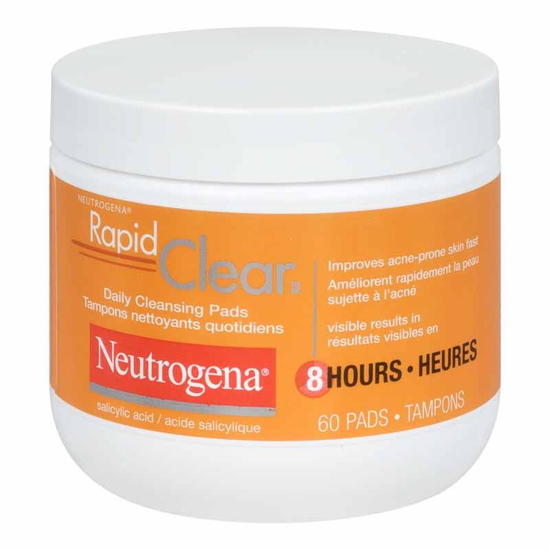 Neutrogena Rapid Clear Daily Cleansing Pads - 60's