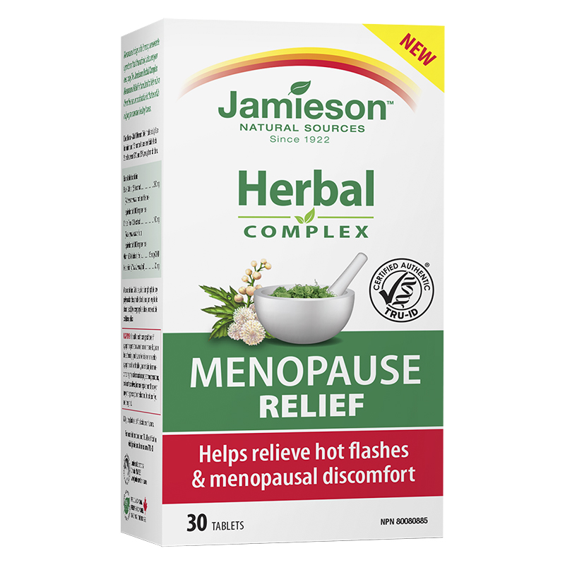 Jamieson Herbal Complex Menopause Relief - 30's
