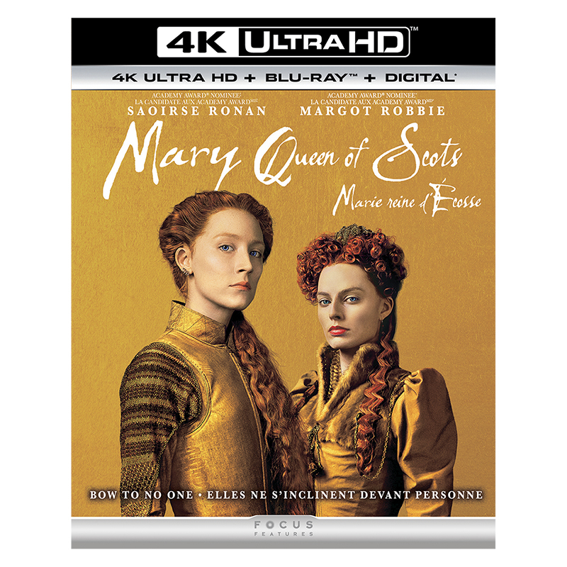 Mary Queen of Scots - 4K UHD Blu-ray