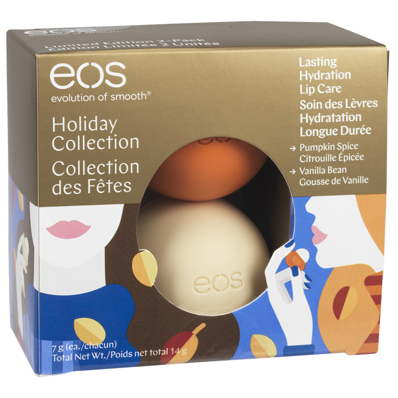 EOS Holiday Collection Lip Balm - 2 x 7g