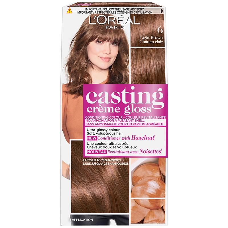 L'Oreal Casting Creme Colour - 6 Light Brown