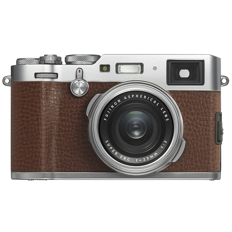 Fujifilm X100F with 23mm Lens - Brown - 600019996