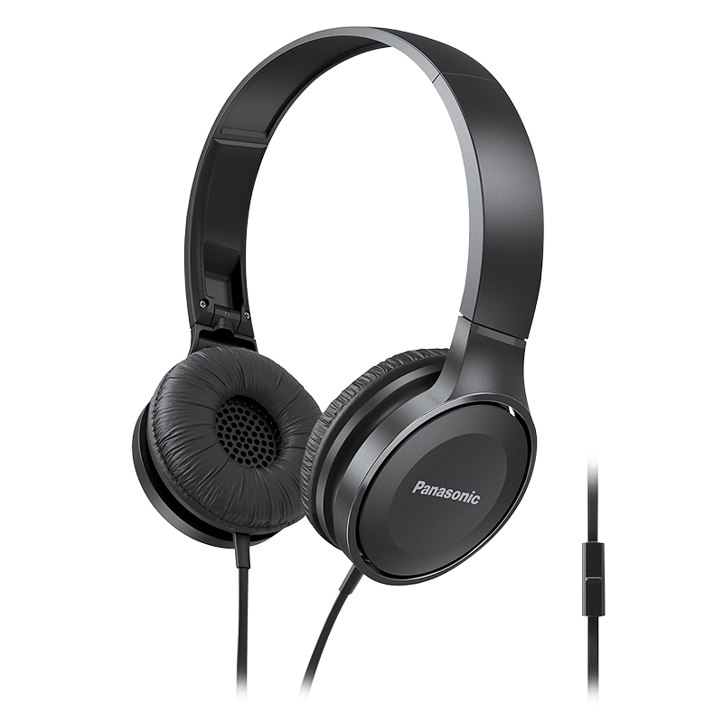 Panasonic Lightweight On-Ear Headphones - RPHF100MA
