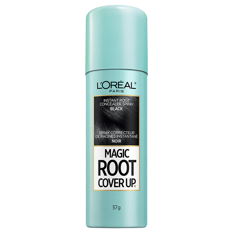 L'Oreal Magic Root Cover Up Temporary Grey Concealer Spray - Black