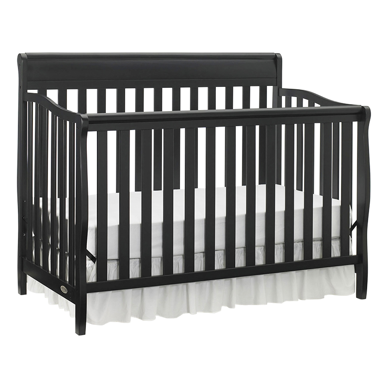 Graco Stanton 4-in-1 Convertible Crib - Black - 04530-66B