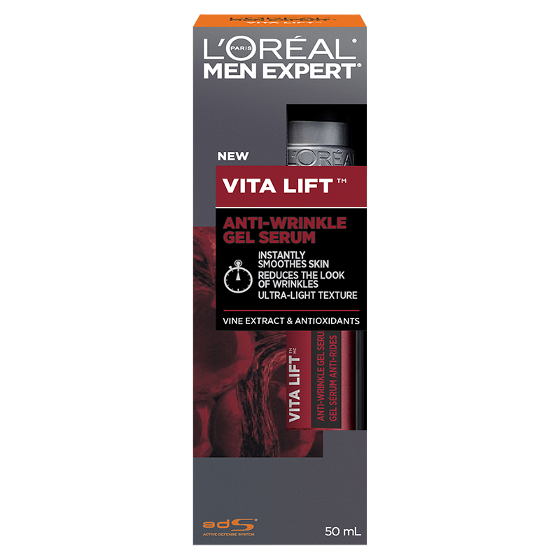 L'Oreal Men Expert Vita Lift Anti-Wrinkle Gel Serum - 50ml