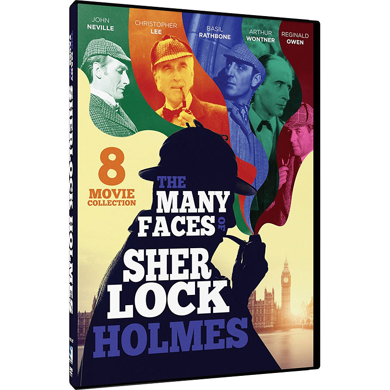 The Many Faces of Sherlock Holmes: 8 Movie Collection - DVD