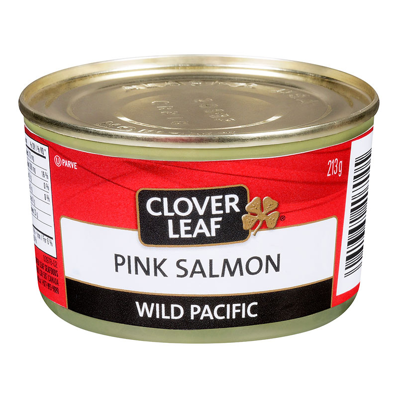 Clover Leaf Pink Salmon - Wild Pacific - 213g