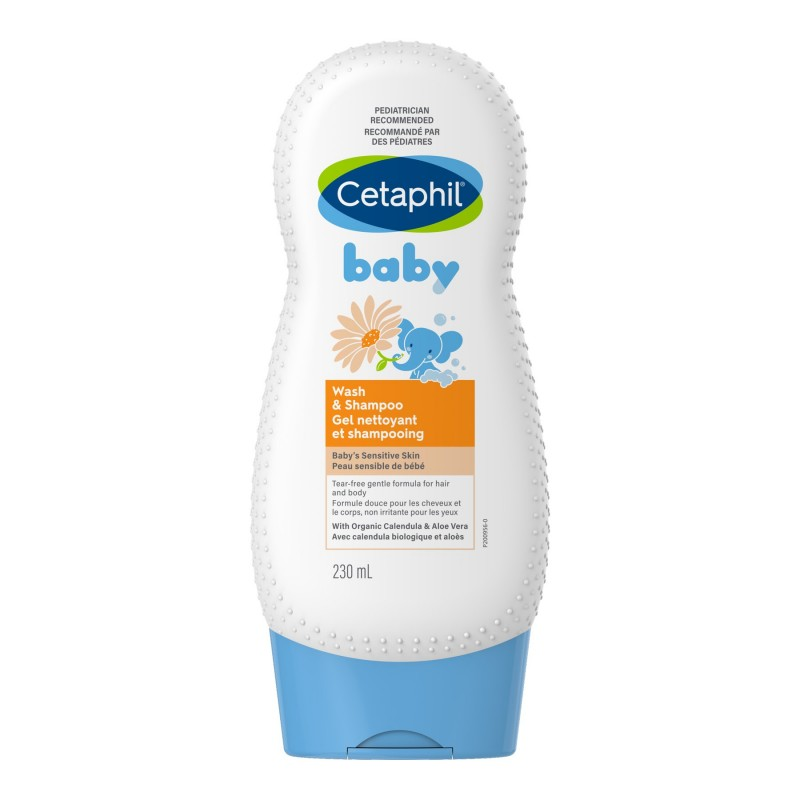 Cetaphil Baby Wash & Shampoo - 230 ml
