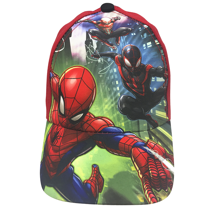 Spiderman Boys Base Ball Cap - 4-6X