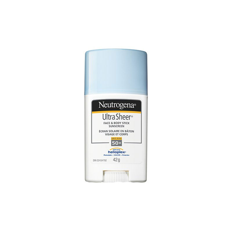 Neutrogena Ultra Sheer Face & Body Stick Sunscreen - SPF 50+ - 42g